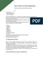 La Administracion en Mexico y la Teoria Organizacional.docx