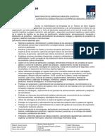Perfil Egreso  Tec en Adm de Empresas Mencion Logistica