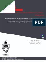 Elias Palti, Temporalidade e refutabilidade de conceitos