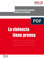 La violencia tiene prensa