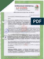 Res. de Alcaldía 190 2017