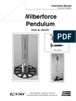 Wilberforce PENDULUM 8