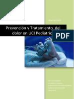 Prevención y tratamiento del dolor en UCI pediátrica