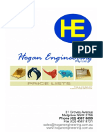 Hogan Copy of New Price List Updted (as at 4 5 2011)