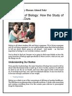 Importance of Biology