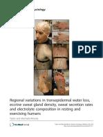 Regional variations in transepidermal water loss.pdf