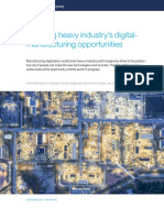 Mapping heavy industry's digital manufacturing opportunities