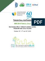 Conferencia SBE  - 16 al 18 de octubre de 2019 - Temuco, Chile - Tercer Call for Papers
