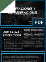 Federaciones y Conf.