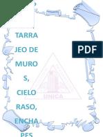 GRUPO 1-Tarrajeo de Muros, Cielo Raso, Enchapes.docx