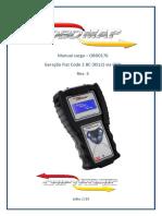 OBD0176 - Geração de Transponder Fiat BC Marelli 9S12 128256