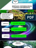 Derecho Ambiental Problemas Ambientales,Contaminación de La Biosfera y Agentes Contaminantes.