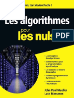 Les Algorithmes Pour Les Nuls