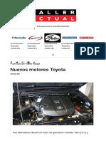 2775 Nuevos Motores Toyota