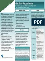 qi project poster  improving nurse responsivness