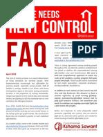 Rent Control FAQ Presser