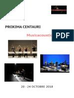 Proxima Centauri Musicacoustica 2018 Fr