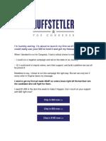 Roger Dean Huffstetler for Congress - VA-05 - Humbly Asking