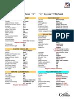 C-172 Skyhawk Checklist
