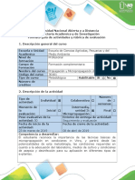Guía de Actividades y Rúbrica de Evaluación - Fase 4 -Ensayo Micropropagación de Plantas