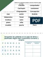 Clasifica sustantivos y sopa de letras 2° 2019.docx