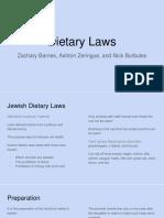 Jewish dietary laws