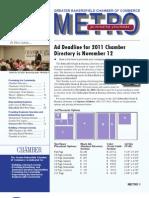 METRO Business Journal - November 2010
