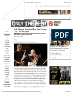 "Bob Mintzer Explains How Sax Players Can ""Be the xa"" » Best. Saxophone. Website. Ever."