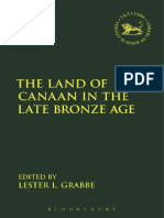 [The Library of Hebrew Bible_Old Testament Studies] Lester L. Grabbe, Andrew Mein, Claudia V. Camp - The Land of Canaan in the Late Bronze Age (2017, T&T Clark).pdf