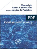 Manual Analgesia y Sedacion en Urgencias de Pediatria Booksmedicos.org