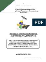 Bases Cas 001-2019 Direccion Regional de Transporte y Comunicaciones
