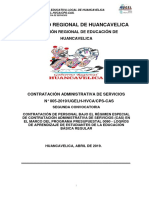 Bases Cas 005-2019 Ugel Huancavelica