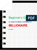Beginner's Guide on Becoming a Millionaire