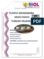 Informe Planta Separadora