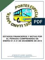 Transportes Especiales Del Llano Sas