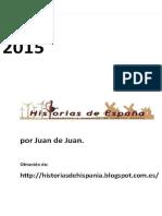 Historia de Espana. 2014 - Juan de Juan