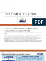 Documentos Onac