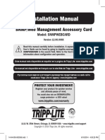 Tripp Lite Owners Manual 754083