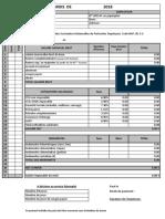 Bulletin de Salaire Avec Formules