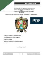 Desarrollo Del Examen de Estadística y Probabilidades 2