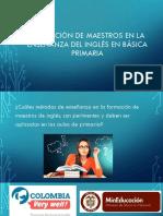 Formación de Maestros en La Enseñanza Del Inglés