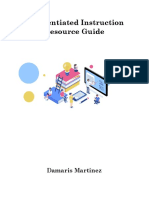 Differentiated Instruction Resource Guide
