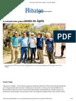 Promueven Patrimonio en Japón - El Sol de Hidalgo