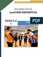 Guía Didática 1 -Gestion Deportiva