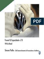 Formel Q Capacidade v. 7.0 VW Do Brasil