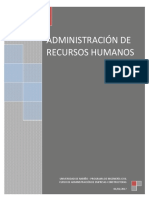 05 Administración de Recursos Humanos