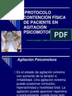 protocolo contención psicomotora