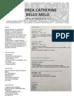 Andrea Bello Melo