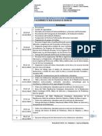 Cronogramas II-2010. PPR- I
