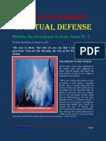 Spiritual Defense Binding Strongman 2